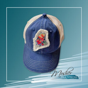 Maine Patch Hat - Navy